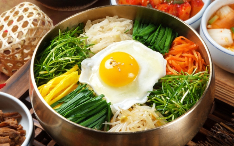 Lunch(Bibimbap)